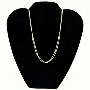 Jules Smith Delicate Layered Gold Necklace